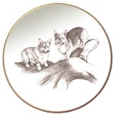 Laurelwood Plate Pembroke Welsh Corgi Picture