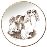 Cavalier King Charles Spaniel Dog Laurelwood Dog Plate