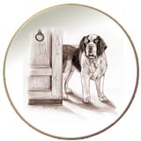 Laurelwood Plate Saint Bernard