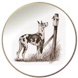 Laurelwood Plates Great Dane