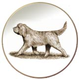 Otterhound Laurelwood Dog Plate