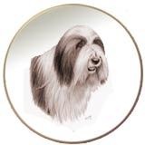 laurelwood plate bearded collie 2011