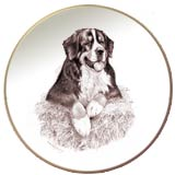 Bernese Mountain Dog Laurelwood Dog Plate