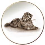 Laurelwood Dog Plates Newfoundland