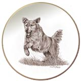 Laurelwood Plate Golden Retriever