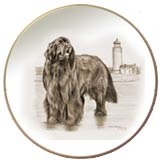 Laurelwood Plate Newfoundland Dog
