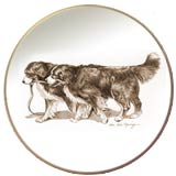 Laurelwood Plate Bernese Mt Dog 2010