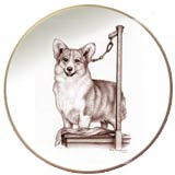 Laurelwood Plate Pembroke Welsh Corgi 2013