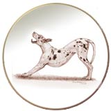 Laurelwood Plate Great Dane 2013