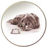 Laurelwood Plate Newfoundland Dog 2013