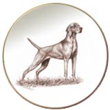 Laurelwood Dog Plates Vizsla