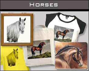 Horse dog cat art pet portraits pictures